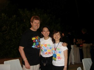 ADLAS 2007- DIRECTORS - DR. NANCY GARCIA-TAN & JOYCE LIM WITH SPEAKER DR. KLAUS FRITZ
